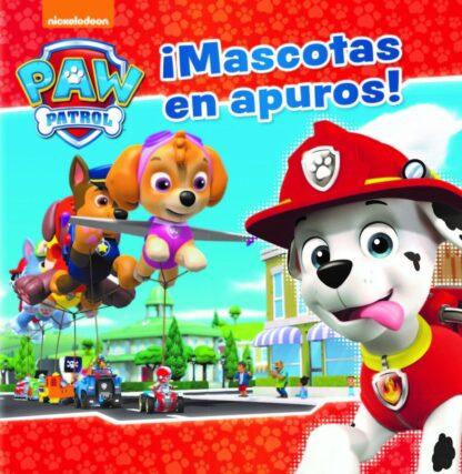 Portada MASCOTAS EN APUROS!.(PAW PATROL) - VV.AA. - BEASCOA