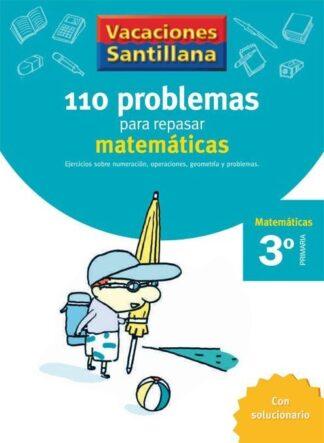 Portada (06).VACACIONES MATEMATICAS 3º.PRIM.(110 PROBLEMAS -  - SANTILLANA