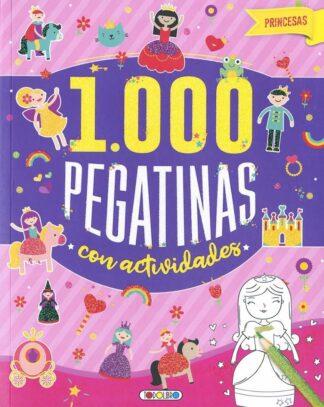 Portada 1000 PEGATINAS CON ACTIVIDADES- PRINCESAS -  - TODOLIBRO