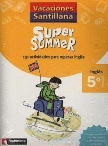 Portada (16).NEW SUPER SUMMER 5º PRIM.(BOOK+AUDIO) -  - RICHMOND
