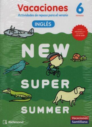 Portada (16).NEW SUPER SUMMER 6º PRIM.(BOOK+AUDIO) -  - RICHMOND
