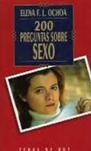 Portada 200 PREGUNTAS SOBRE SEXO - ELENA F. L. OCHOA - TEMAS DE HOY