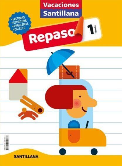Portada (20).VACACIONES DE REPASO 1º PRIMARIA - AA.VV - ALFAGUARA
