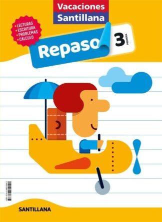 Portada (20).VACACIONES DE REPASO 3º PRIMARIA - AA.VV - ALFAGUARA