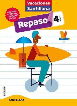 Portada (20).VACACIONES DE REPASO 4º PRIMARIA - AA.VV - ALFAGUARA