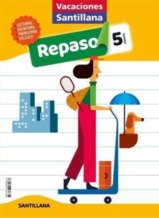 Portada (20).VACACIONES DE REPASO 5º PRIMARIA - AA.VV - ALFAGUARA