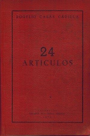 Portada 24 ARTICULOS - ROGELIO CASAS CADILLA - ESTADES