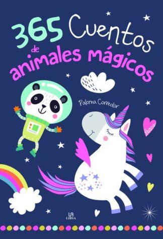 Portada -365 CUENTOS DE ANIMALES MÁGICOS - CUENTOS Y LEYEN - CORREDOR, PALOMA - LIBSA
