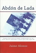 Portada ABDON DE LADA - JAIME ALONSO -