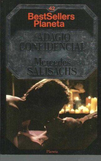 Portada ADAGIO CONFIDENCIAL - MERCEDES SALSACHS - PLANETA