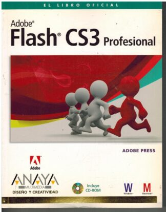 Portada ADOBE FLASH CS3 PROFESIONAL - - - ANAYA