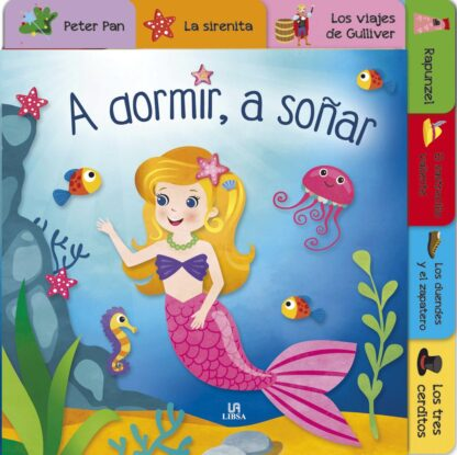 Portada -A DORMIR A SOÑAR - BABY CUENTOS - EQUIPO EDITORIOAL - LIBSA
