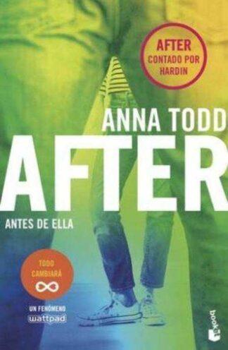 Portada AFTER. ANTES DE ELLA (SERIE AFTER) -  ANNA TODD - PLANETA