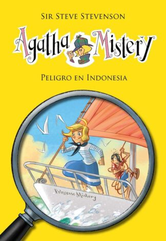 Portada AGATHA MISTERY 25 - PELIGRO EN INDONESIA - STEVENSON, STEVE/TURCONI, STEFANO (IL.) - LA GALERA