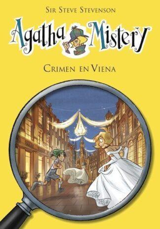 Portada AGATHA MISTERY 27. CRIMEN EN VIENA - SIR STEVE STEVENSON - LA GALERA