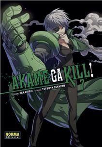 Portada AKAME GA KILL 7 - TAKAHIRO/TASHIRO - NORMA EDITORIAL