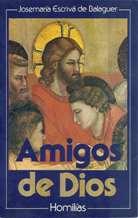 Portada AMIGOS DE DIOS - JOSE MARIA ESCRIVA DE BALAGUER - RIALP
