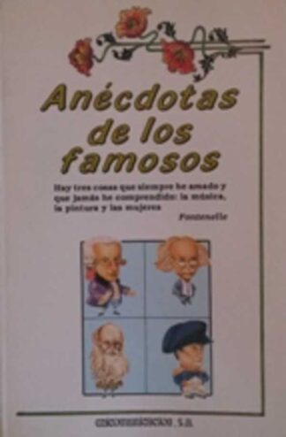 Portada ANECDOTAS DE LOS FAMOSOS - TONY RAMIREZ - EDICOMUNICACION