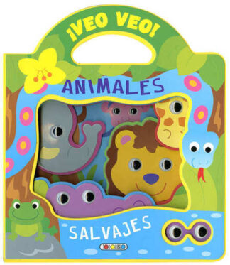 Portada ANIMALES SALVAJES (VEO VEO) -  -