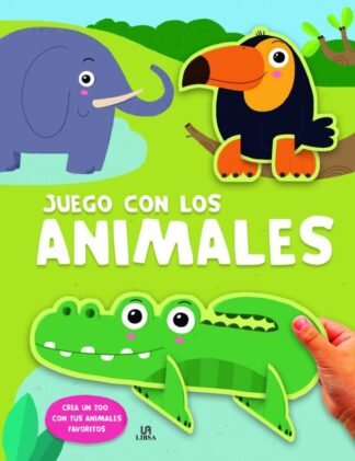 Portada -ANIMALES CREA UN ZOO - JUEGO CON - EQUIPO EDITORIAL - LIBSA