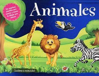 Portada -ANIMALES - CUADERNO DE CREATIVIDAD -  - LIBSA