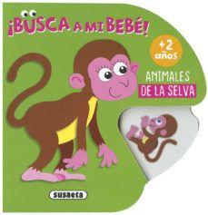 Portada ANIMALES DE LA SELVA  (BUSCA A - SUSAETA, EQUIPO - SUSAETA