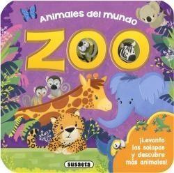 Portada ANIMALES DEL MUNDO    (SOLAPAS -  - SUSAETA