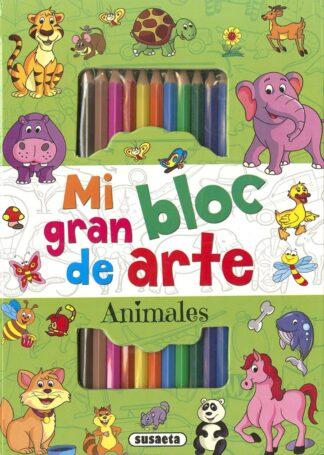 Portada ANIMALES  (MI GRAN BLOC D/ARTE - VV.AA. - SUSAETA