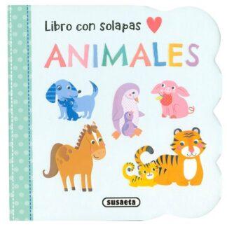 Portada ANIMALES (MI PRIMER LIBRO CON -  - SUSAETA
