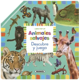 Portada ANIMALES SALVAJES     (POP UP - TALAVERA, ESTELLE - SUSAETA