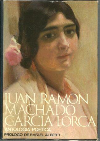 Portada ANTOLOGIA POETICA - JUAN RAMON JIMENEZ, ANTONIO MACHADO, FEDERICO GARCIA LORCA - NAUTA
