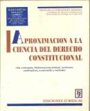 Portada APROXIMACION A LA CIENCIA DEL DERECHO CONSTITUCIONAL - FRANCISCO FERNANDEZ SEGADO - EDICIONES JURIDICAS