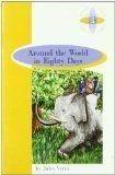 Portada AROUND WORLD EIGHTY DAYS.4E.BURL - VERNE,JULES -