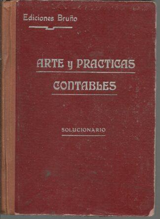 Portada ARTE Y PRACTICAS CONTABLES - VARIOS AUTORES - BRUÑO