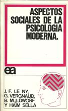 Portada ASPECTOS SOCIALES DE LA PSICOLOGIA MODERNA - VV.AA - AYUSO