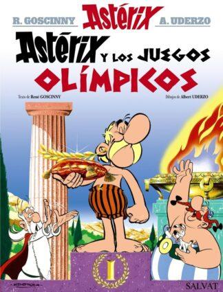 Portada ASTERIX JUEGOS OLIMPICOS.SALVAT -  - BRUÑO