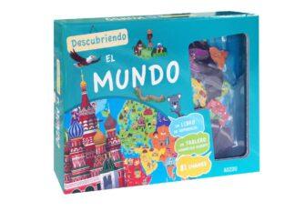Portada ATLAS MAGNÉTICO. DESCUBRIENDO EL MUNDO. - DAVID, PATRICK -