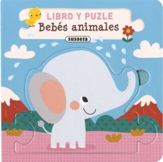 Portada BEBES ANIMALES (LIBRO Y PUZLE) -  - SUSAETA