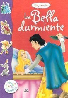 Portada BELLA DURMIENTE, LA (STICKERCUENTOS) + STICKERS - VV.AA. - LIBSA