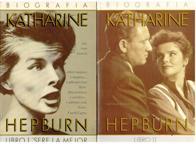 Portada BIOGRAFIA DE KATHARINE HEPBURN LIBRO I  LIBRO II - ANNE EDWARD - GRECA