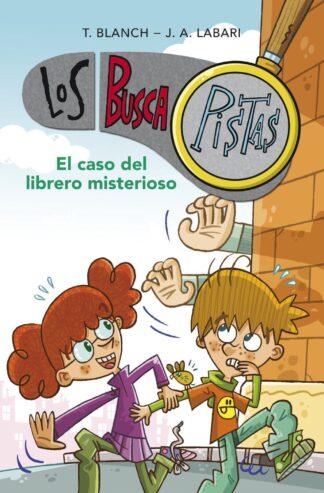 Portada BUSCAPISTAS 1. EL CASO DEL LIBRERO MISTERIOSO -  - MONTENA