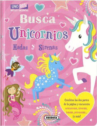 Portada BUSCA UNICORNIOS  (MEZCLA Y EN - VV.AA. - SUSAETA