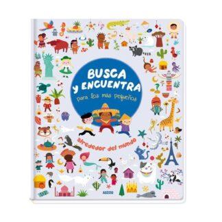 Portada BUSCA Y ENCUENTRA PARA LOS MÁS PEQUEÑOS ALREDEDOR DEL MUNDO - AMANDINE NOTAERT -