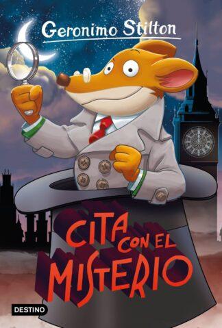 Portada CITA CON EL MISTERIO - STILTON, GERONIMO - DESTINO