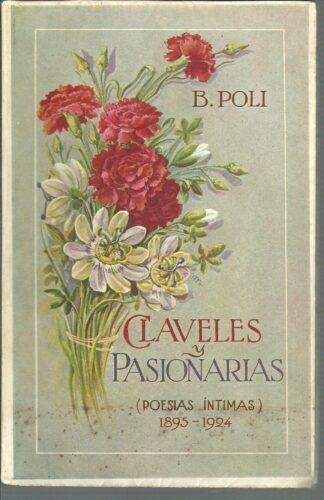Portada CLAVELES Y PASIONARIAS - B POLI - ED DEL AUTOR