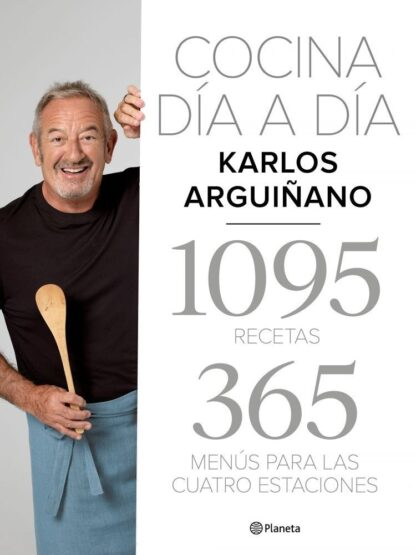 Portada COCINA DÍA A DÍA - ARGUIÑANO, KARLOS - CIRCULO DE LECTORES