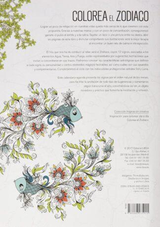 Portada -COLOREA EL ZODIACO - INSPIRACION CREATIVA - EQUIPO EDITORIAL - LIBSA