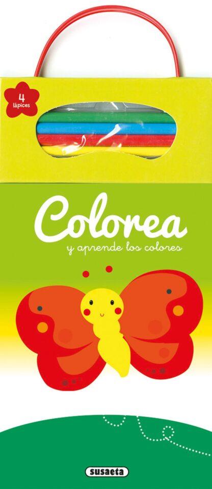 Portada COLOREA Y APRENDE LOS COLORES -  - SUSAETA