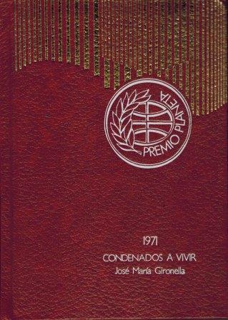 Portada CONDENADOS A VIVIR TOMO  I  II - JOSE MARIA GIRONELLA - PLANETA
