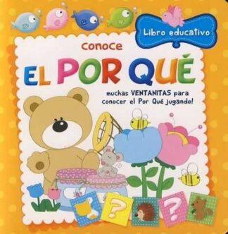 Portada CONOCE EL POR QUÉ LIBRO EDUCATIVO -  - COMICS Y CUENTOS ASTURIAS